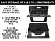Portable Easy Grill - Case of 4
