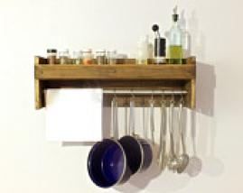 Compact kitchen shelf /organizer /spice rack