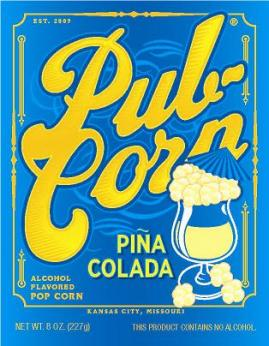 Beer and Cocktail Flavored Popcorn