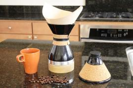 Cora: the all-in-one pour over coffee brewer