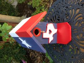 Cedar birdhouses and other wood items