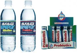 Alkalize Energy Alkaline and Alkaline Probiotics Water and Products