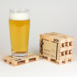 Palette-It: Miniature Pallet Coasters