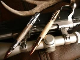 Handcrafted Bullet Pens