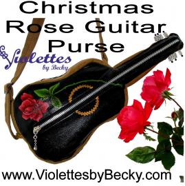Whimsical, fun practical musical instrument-shaped purses and gig bags.
