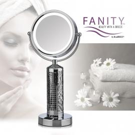Fanity LED Mirror with Elegant Personal Fan all-in-one