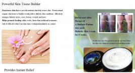 Diabetic Relief Therapy Cream, Radiation Relief Therapy Cream