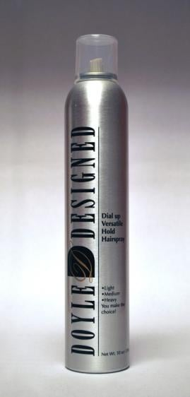 "Doyle Designed ""Dial Up"" Hair Spray"