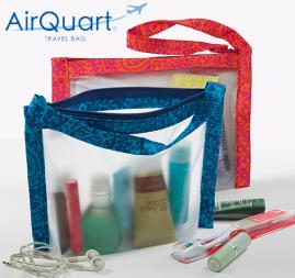 AirQuart® travel bag, Jewelry Pockets, Phone Wristlet