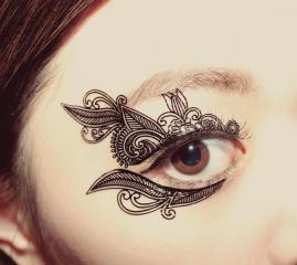 Eye Shadow Temporary Tattoo
