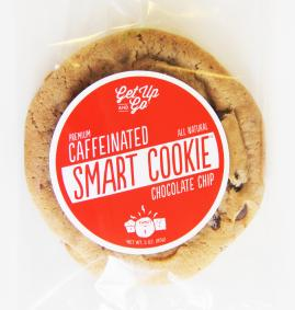 Get Up and Go Caffeinated Smart Cookie- Chocolate Chip