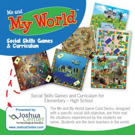 Me and My World Social Skills Games and Curriculum