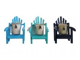 Luxury Miniature Adirondack Chair Candle-Comes with a free Necklace Charm
