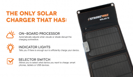 Solar Phone Chargers and Accessories