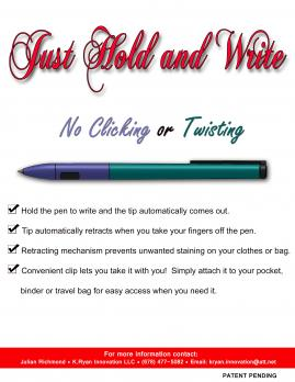 Just Hold & Write Writing Instrument