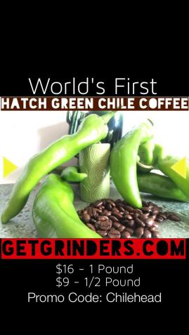 Green Chili Coffee