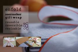 enfold reusable gift wrap