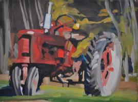 Tractor Series Paintings/Giclee prints