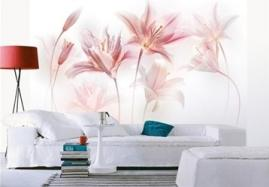 Contemporary London Lily Non-Woven Paper Mural