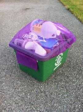Rnet Recycling Bin Cover