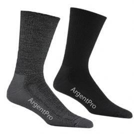 ArgentPro antimicrobial socks