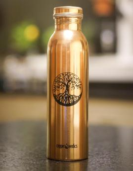 CopperVedics Water Bottles