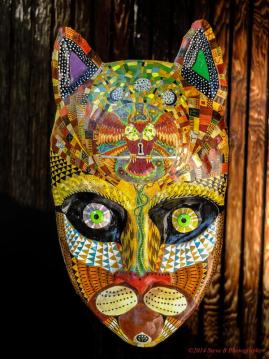 Decorative & Wearable Masks from recycled materials