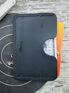 Ice Boot Recycled Front Pocket Wallet