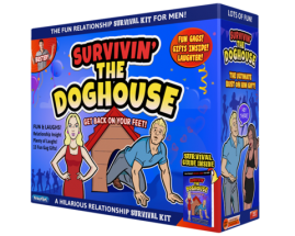 Survivin' the Doghouse Relationship Survival Kit for Men