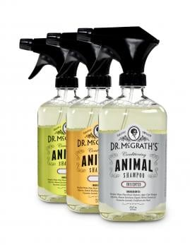 Dr. McGrath's Conditioning Animal Shampoo & Ear Wipes