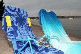Slip Clips - Perfect Beach Towel and Boat Clip