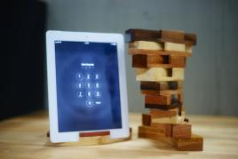 Wooden Desktop Items