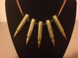 5.56 Bullet Necklace