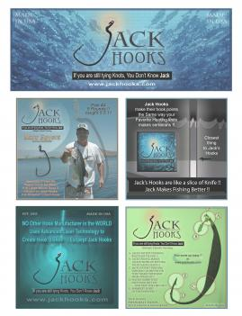 JackHooks / RopeJack  - Knotless Fish Hooks and RopeJacks