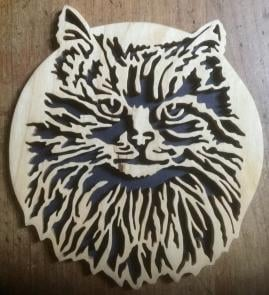 Custom Wooden Pet Portraits & Puzzles