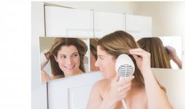 Floxsee Tri-View Portable Acrylic Mirror