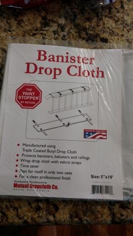 The Banister DropCloth