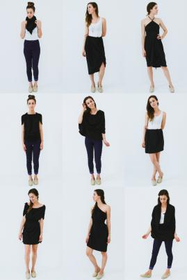 the Versalette - one piece, 30 ways to wear