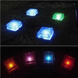 Solar Power LED Ice Brick Lights