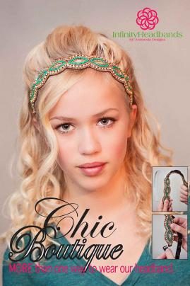 Chic Boutiqe Infinity Headbands