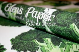 100% Plantable Wrapping Paper by Eden's Paper.