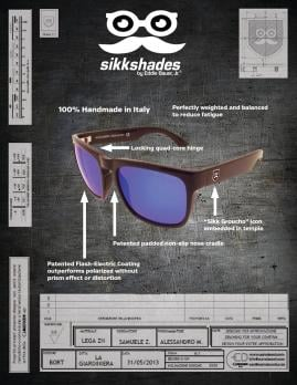 Sikk Shades by Eddie Bauer Jr