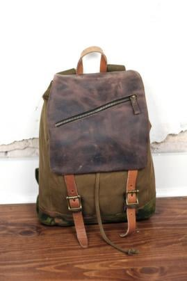 Rucksack Leather Bag