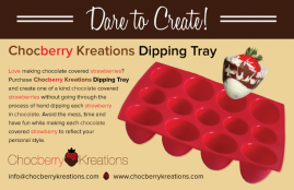 Chocberry Kreations Dipping Tray