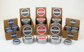 Sore Muscle Rub, Arthritis Salve, Head-To-Toe Salve, Shampoo Bar, Shaving Soap, Gardener's Soap