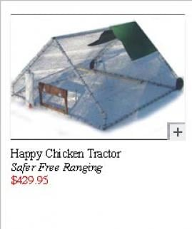 Happy Chicken Tractor