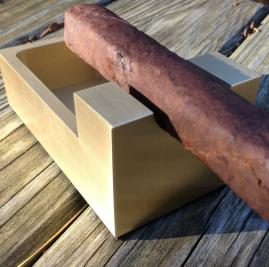 Metal Shop Cigar Stand