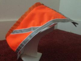 high visibility reflective dog vest