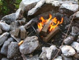 Repose Wood Pellet Fire Logs