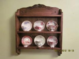 Tea cup shelves